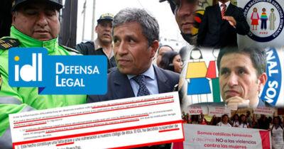 IDL suspende a Carlos Rivera por caso sexual