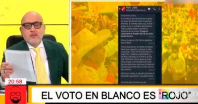 Todavía no hay presidente electo en el Perú